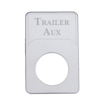 Kenworth Engraved Trailer Aux Indicator Light Plate