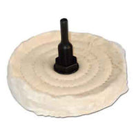 50 Ply 4 Inch Shank Mounted Buffing Wheel