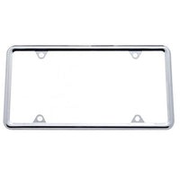 Chrome Slim License Plate Frame