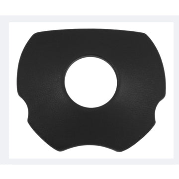 Black Polyurethane Sport 4 Horn Pad For 5 Hole Bolt Pattern Wheel