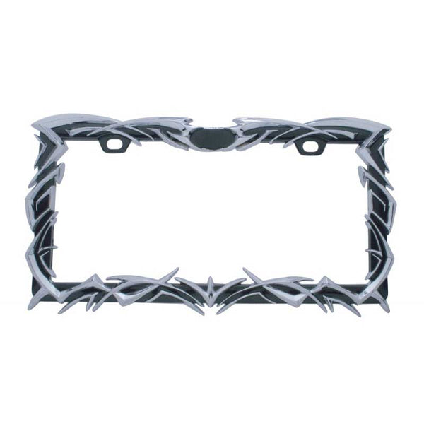 Tribal Flame License Frame