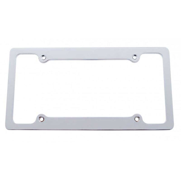 Chrome Billet License Frame