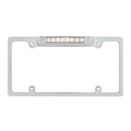 Deluxe LED License Plate Frame With Back Up Light