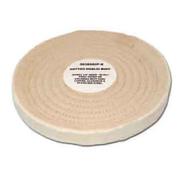 60 Ply White Cotton Muslin Buffing Wheel