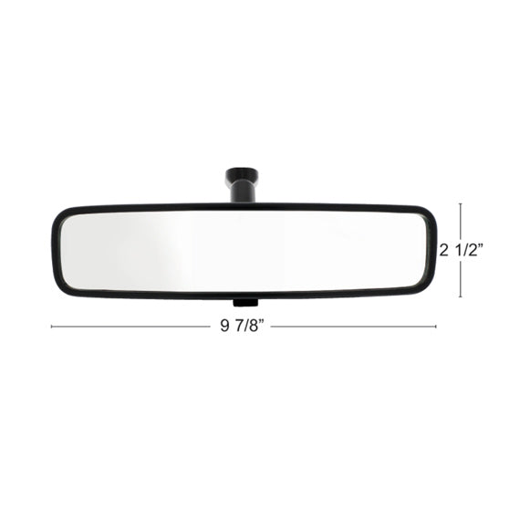 Day / Night Interior Rearview Mirror Assembly With Flat Mount