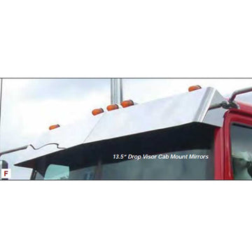 Western Star 4900 Series Visors Cab Mounted Mirrors