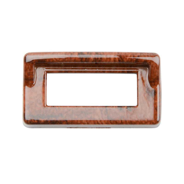 Kenworth Wood Color Switch Label Bezel Cover