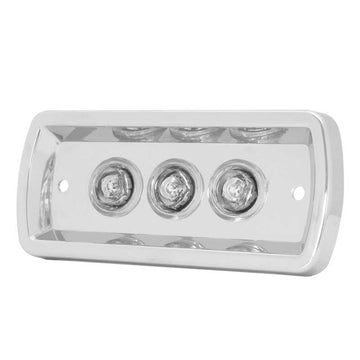 Chrome Plastic Daylight Cab Door LED Lights