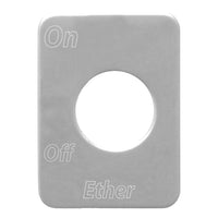 Peterbilt Ether Switch Plate