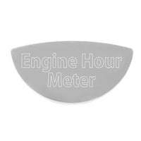 Peterbilt 370 And 359 Engine Hour Meter Gauge Emblem