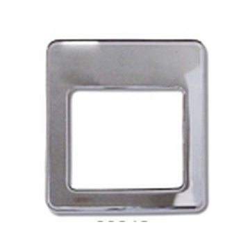 Chrome Plastic Dome Light Cover 2002 and Newer