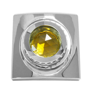 Chrome Swivel Map Light Cover with Crystal