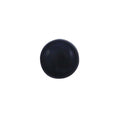 Black Plastic Snap-On Cap For 6/8 Screw