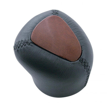 Wood And Leather 9/10 Speed Gearshift Knob