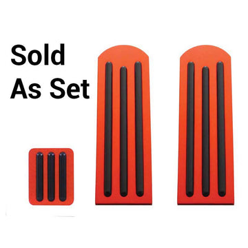 Peterbilt Red Anodized Pedal Set