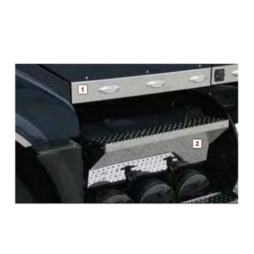 Volvo VN 630 Replacement Battery Box Lid With Steps