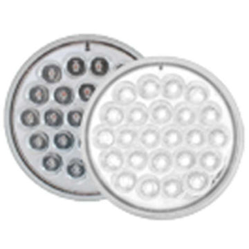 4 Inch 24 LED White Light Continuous / Alternate /Synch Strobe