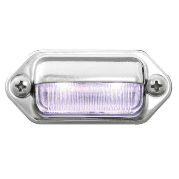 2 LED White License Plate Light