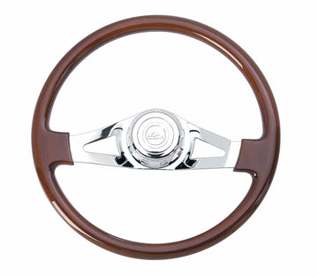 18 Inch 2 Spoke Steering Wheel For Newer Peterbilt and Kenworth