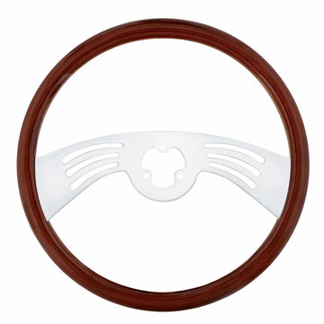 18 Inch Chrome 2 Spoke Steering Wheel
