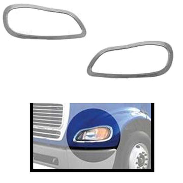 Freightliner M2 Chrome Headlight Bezel