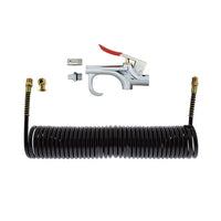 30 Foot Extension Hose With Air Chuck And Air Blow Gun Kit