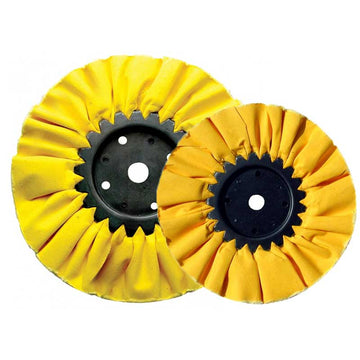 Yellow Hard D-50 Treated Airway Buff for Heavy Cutting 5 Options