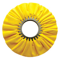 10 Inch Treated Yellow Airway Buff With 3 Inch Arbor