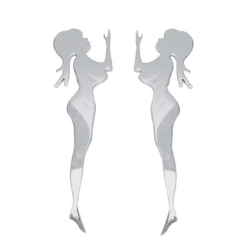 Standing Lady Mud Flap Cut Out