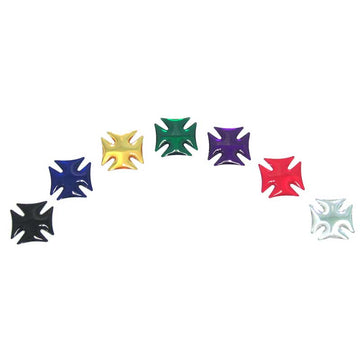 Iron Cross Accent W/ Colored Sticker