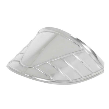 7 Inch Stainless Steel Headlight Visor