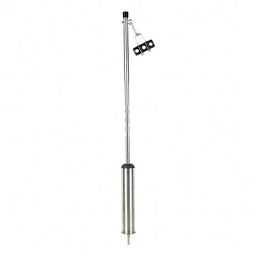 40 Inch Chrome Competition Series Heavy Duty Swivel Stick