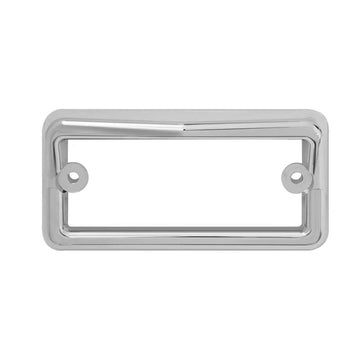 Rectangular Cab Visor Light Bezels