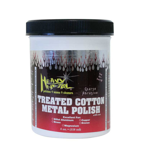 Heavy Metal Red Cotton Polish 4 oz Can