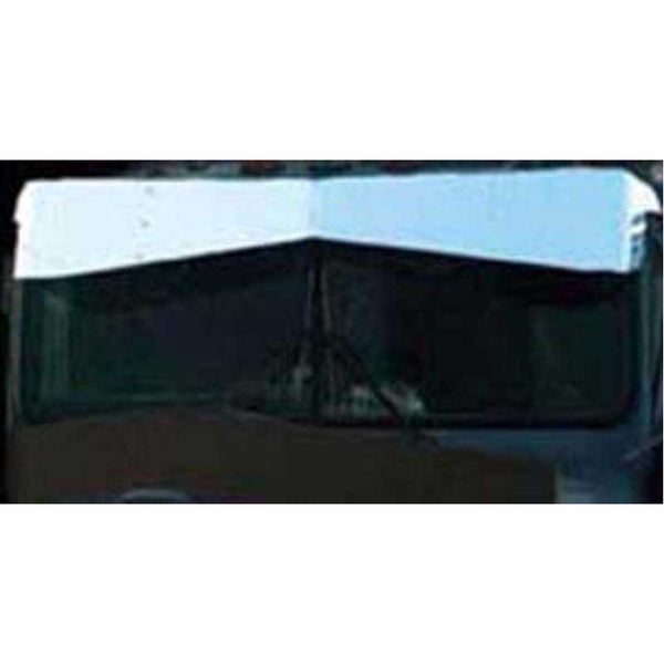 13 by 9 Inch Bowtie Visor for Kenworth W900L