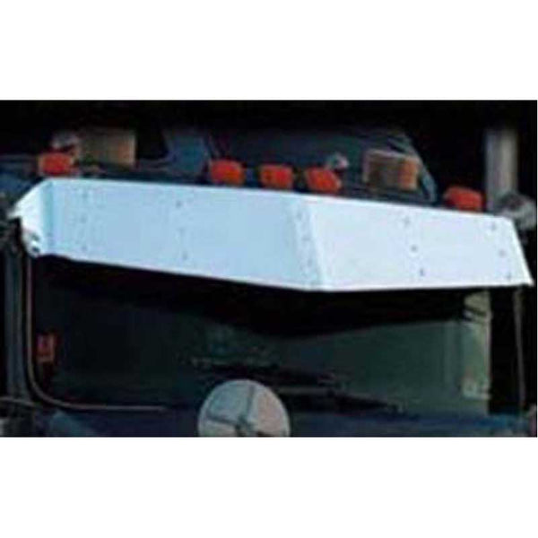 13 by 14.5 Inch V Style Visor for Kenworth T600-800