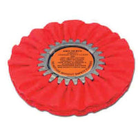 Orange Ruffy Clear Dip Airway Buffing Wheel