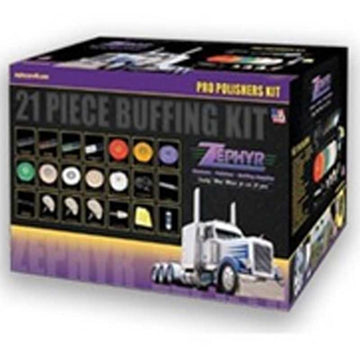 Zephyr 21 Piece Professional Polisher's Starting Kit