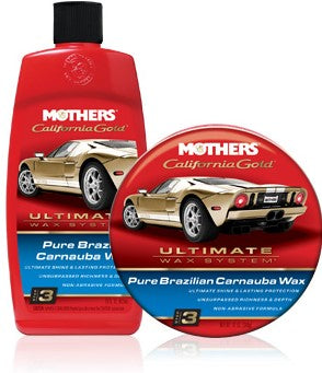 Mothers California Gold Pure Carnauba Wax Phase 3