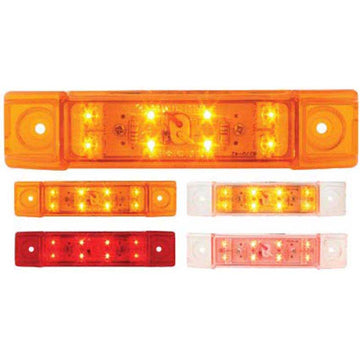 6 Inch Rectangular Wide Angle Dual Function LED Light