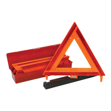 Red Warning Triangle Set of 3