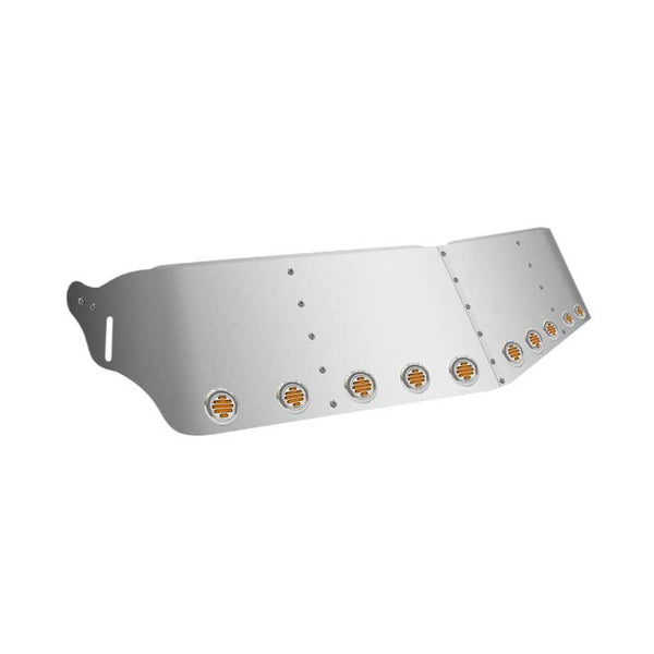16 Inch Kenworth Flat Glass Sunvisor with Ten 2 Inch LEDs