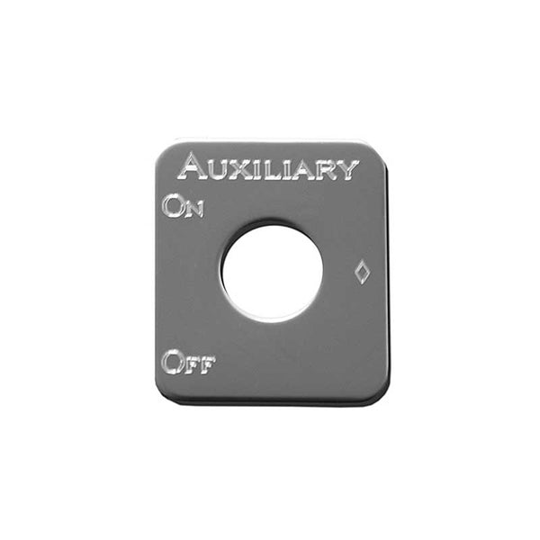 Stainless Steel Auxiliary Switch Plate