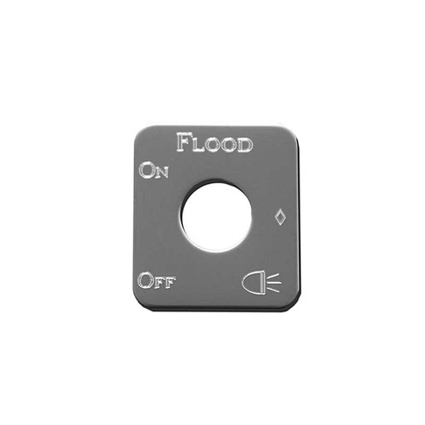 Stainless Steel Flood Lights Switch Plate