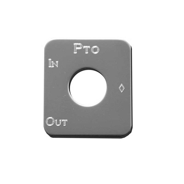 Stainless Steel Power Take Off Switch Plate