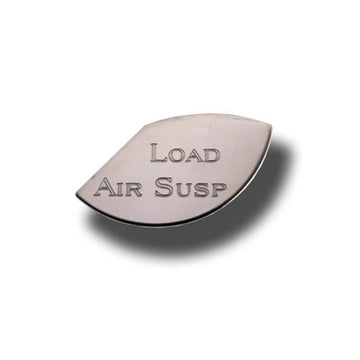 Stainless Steel Load Air Suspension Gauge Emblem