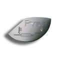 Stainless Steel Large Pyrometer Gauge Emblem