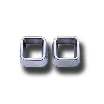 Chrome Warning Light and Turn Signals Bezel Cover