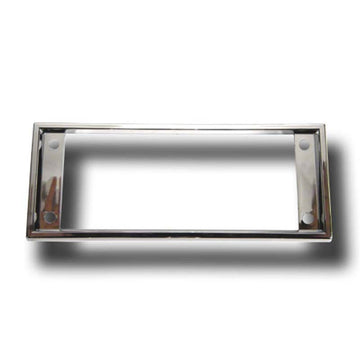 Chrome A/C Heater Control Bezel Cover