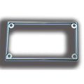 Chrome Wiper Panel Bezel